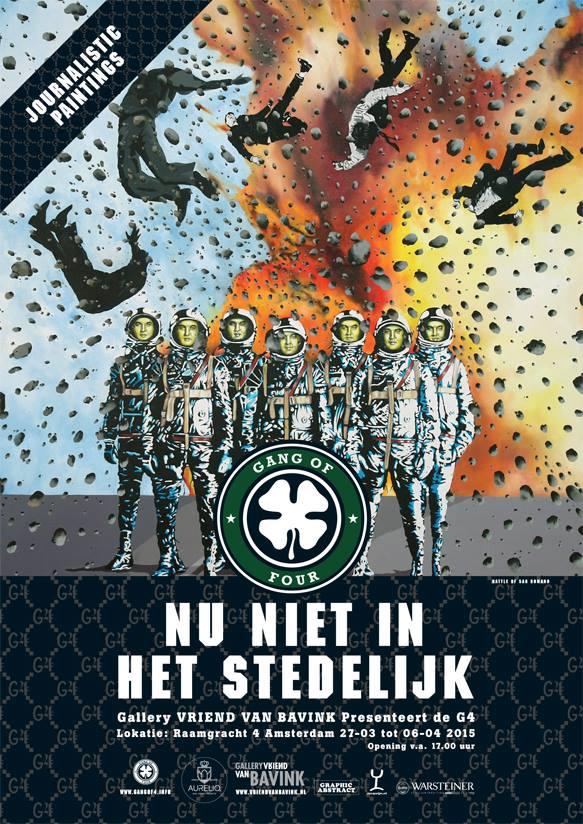 Aldert Mantje, Toon den Heijer, Peter Kempff en Menno Schenk